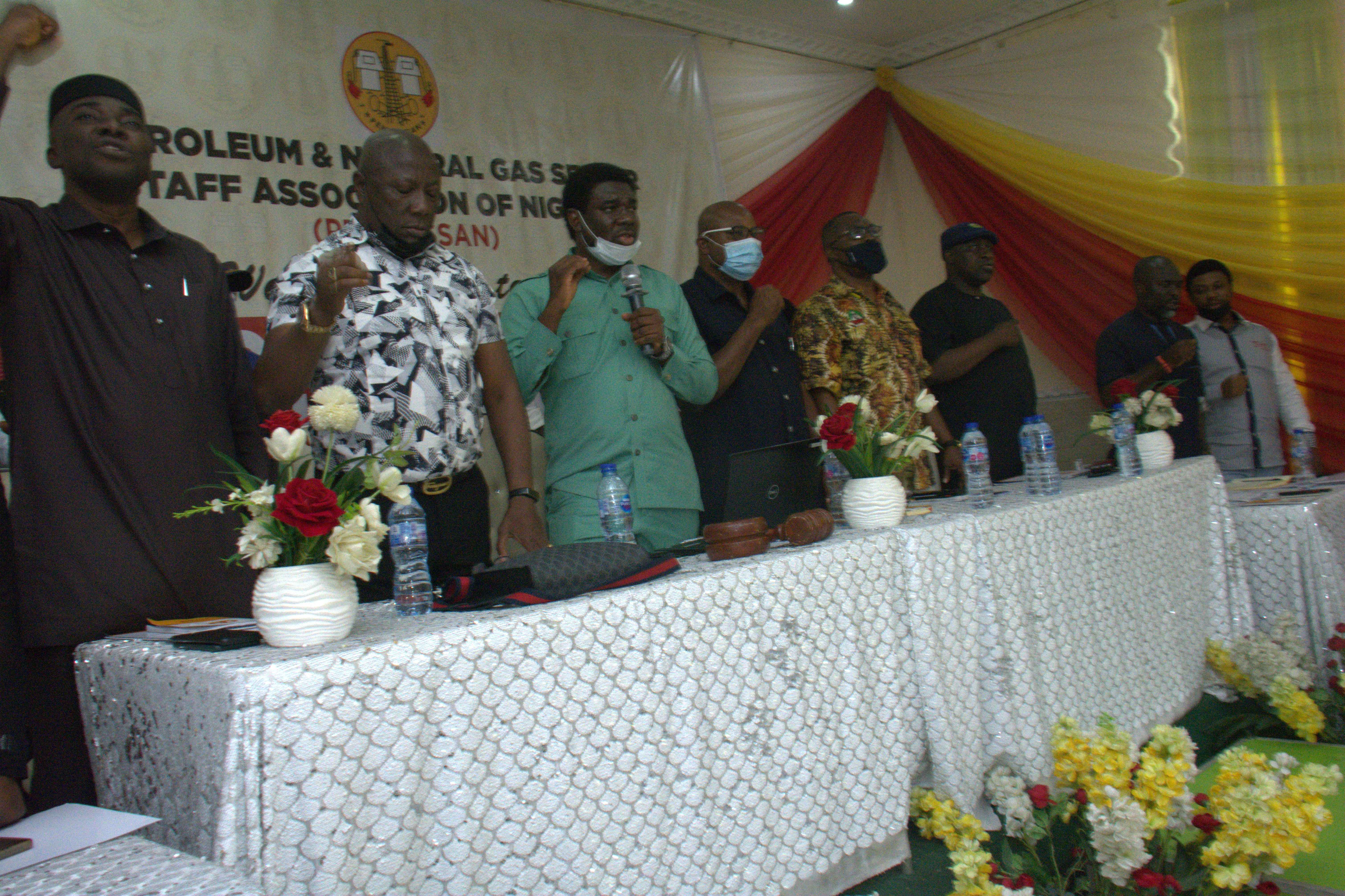 ECHOS FROM THE NATIONAL EXECUTIVE COUNCIL (NEC) MEETING OF THE PETROLUEM AND NATURAL GAS SENIOR STAFF ASSOCIATION OF NIGERIA (PENGASSAN), HELD ON JUNE 2021, IN BENIN, EDO STATE.