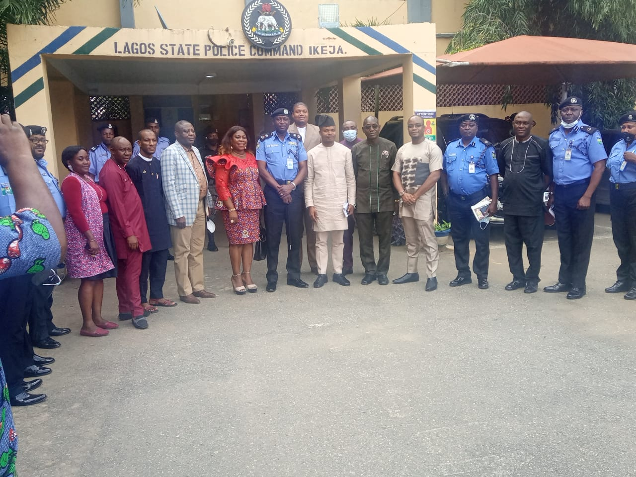 Highlights from the National Security Awareness Program, Lagos Zone.